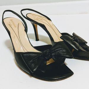 Kate Spade Peep Toe Bow Heels
